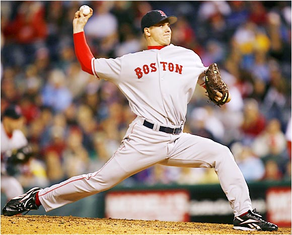 What began as an experiment may have led to the dawning of a new era in Boston. Papelbon has been all but unhittable for the contending Red Sox, allowing only three runs in 54 innings through Aug. 3. He is on pace to notch 42 saves, which would break Kazuhiro Sasaki's rookie record of 37 set in 2000.