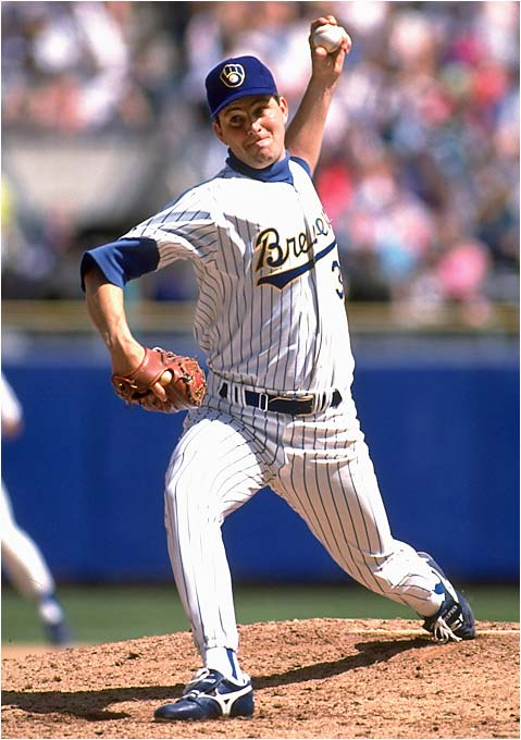 At 6-foot-5 and armed with a 95 mph fastball, Plesac was an imposing presence. He went 10-7 with 14 saves as a rookie and made the All-Star Game each of the next three seasons.