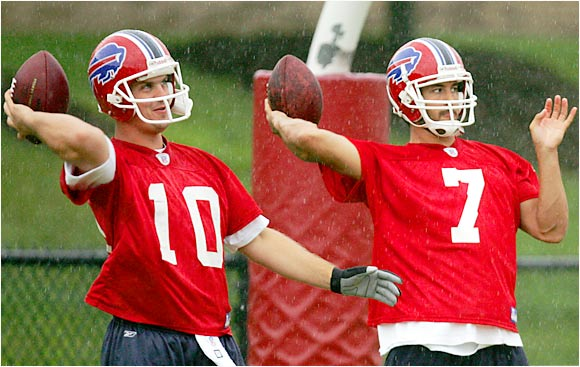 Is Losman (right), a 2004 first-rounder, the QB of the future? After a 2-7 record as a starter in 2005, he still has plenty to prove.