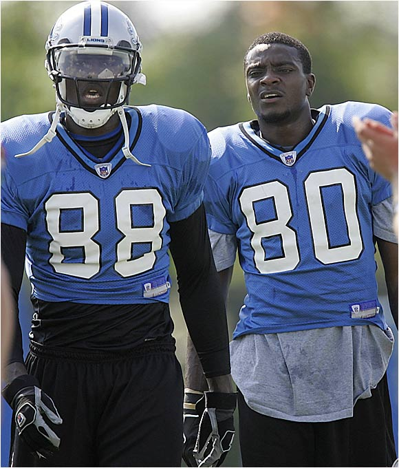 The two former first-round picks, Williams (left) and Rogers, should be battling for the No. 2 spot, although that's not a guarantee as both have been plagued by issues. The Lions have a lot invested in them and will likely start the more consistent of the two.
