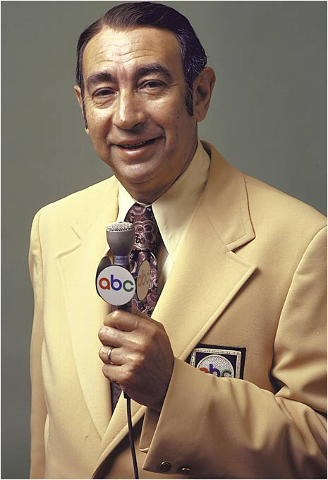 Howard Cosell was simultaneously the most renowned and controversial voice in sports. He was unafraid of saying anything, its seemed, a trait which both endeared and alienated him from others.