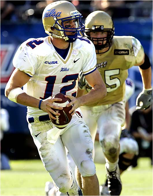 Paul Smith, QB, Tulsa: As a true sophomore, Smith showed poise and efficiency beyond his years. The 6- 2, 193-pound QB threw for 2,847 yards and 20 touchdowns to just six interceptions and added six rushing touchdowns.