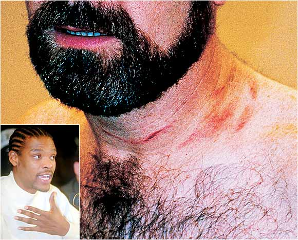 Upset at criticism from his coach during a December 1997 Golden State Warriors practice, Latrell Sprewell grabbed P.J. Carlesimo by the throat, dragged him to the ground and choked him for 10 or 15 seconds before other players tore Sprewell away.