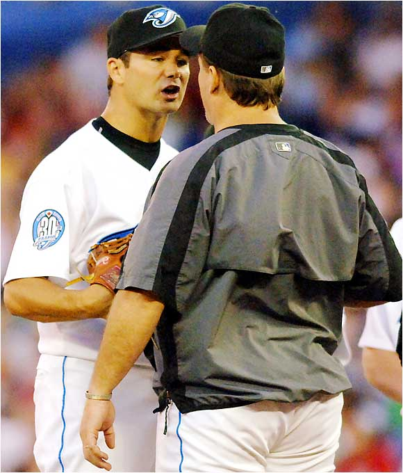 Barely a month after his showdown with Hillenbrand, Gibbons got into a heated argument on the mound with pitcher Ted Lilly on Aug. 21. Shortly thereafter Lilly headed to the clubhouse; Gibbons followed him and was later seen with a bloody nose.