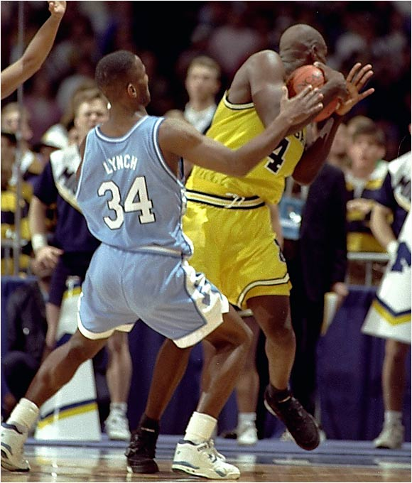 """How about Chris Webber's infamous timeout call? I thought for sure it would have been on your list."" -- Eric Olender, Pittsburgh"