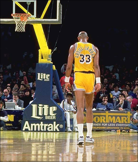 "By the time he retired, Abdul-Jabbar was the NBA's all-time leading scorer and the only player to win six MVP awards. He received standing ovations in every visiting arena and ended his career on a high note after being maligned through much of the '70s. He said after his retirement, ""The '80s made up for all the abuse I took during the '70s. I outlived all my critics."""