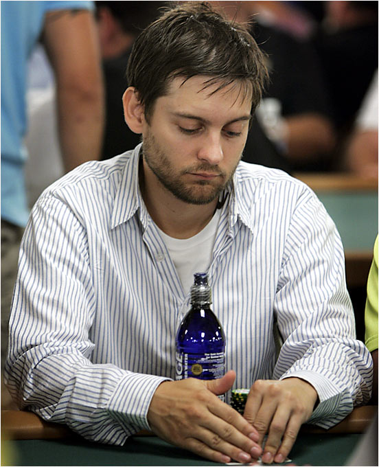 The World Series of Poker isn't just for civilians. Several celebrities -- from the A-list to the D-list -- were among the 8,000 participants in this year's event, which kicked off last Friday at the Rio in Las Vegas. Spider-Man himself, Tobey Maguire, had no problem coughing up the $10,000 entry fee.
