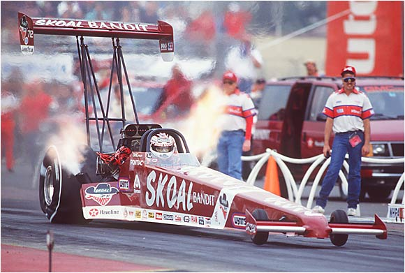 The sixth-winningest driver in NHRA history has been racing for more than four decades.
