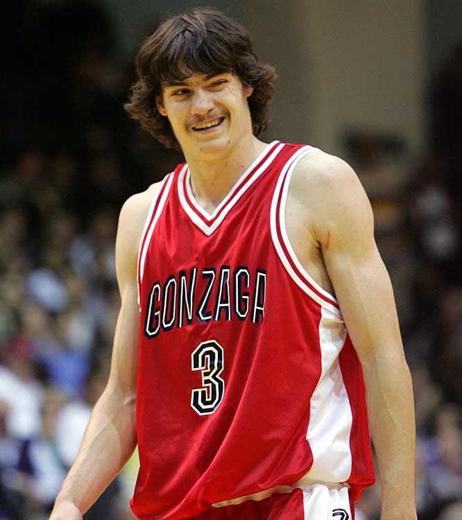 The cheesy mustache used to be the domain of `70s porn stars and Larry Bird. Then Adam Morrison came along...