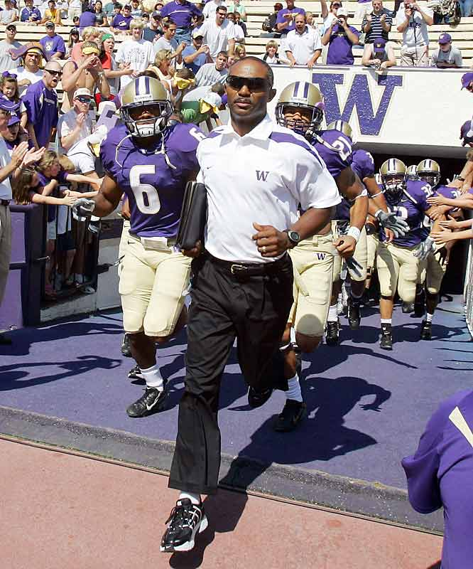 Last year, in his debut season with Washington, Tyrone Willingham went 2-9. His Huskies weren't expected to fair much better this season, but coming off a 29-19 win over previously unbeaten UCLA, Washington is 3-1, with its only loss coming at No. 16 Oklahoma.