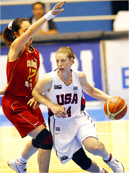 Katie Smith started all nine games for the U.S. at both the 1998 and 2002 worlds but saw her 18-game streak end when a starting lineup of Sue Bird, Diana Taurasi, Tina Thompson, Tamika Catchings and DeLisha Milton-Jones took the floor for the opener in Brazil.
