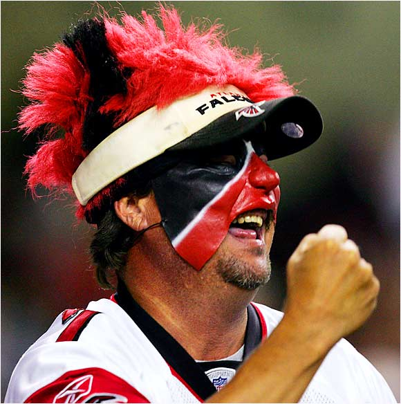 Is the face paint and wacky hair really necessary during preseason games?