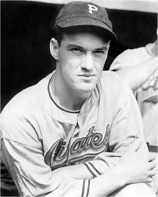 "On Sept. 4, the Pirates led the Cubs by seven games, but thanks to Gabby Hartnett's ""homer in the gloamin',"" Chicago won the NL pennant by two games despite the efforts of Pittsburgh's Arky Vaughan (pictured) and brothers Paul ""Big Poison"" and Lloyd ""Little Poison"" Waner."