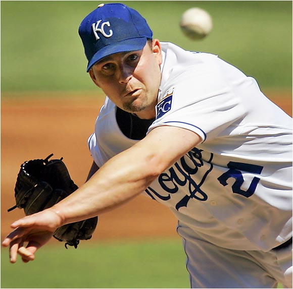 Royally hot: Mark Redman allowed just one run in seven innings as the Royals wrung out the White Sox 7-3 at Kauffman Stadium on Sunday.  Kansas City's All-Star left-hander had tossed a complete game shutout in his previous start in Minnesota on August 29.