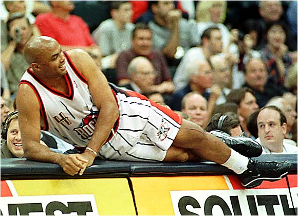 Sir Charles might make you angry ... but he can also make you laugh.