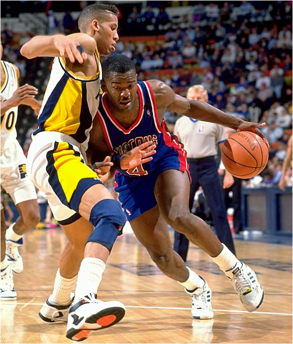 The battle between Joe Dumars and Reggie Miller was one of the most entertaining in the East.