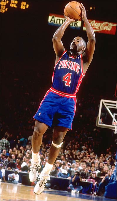 The six-time All-Star could nail the jumper when the Pistons needed it most.