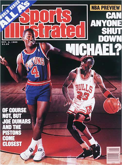 The Nov. 6, 1989 edition of Sports Illustrated.