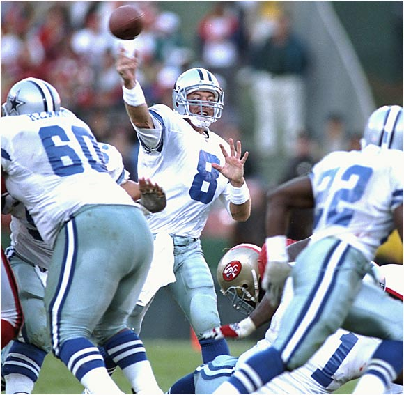 He deserves credit for making his personal statistics secondary to his team's success. He led the Cowboys to three Super Bowls and had more wins in the 1990s than any other quarterback had in any other decade.