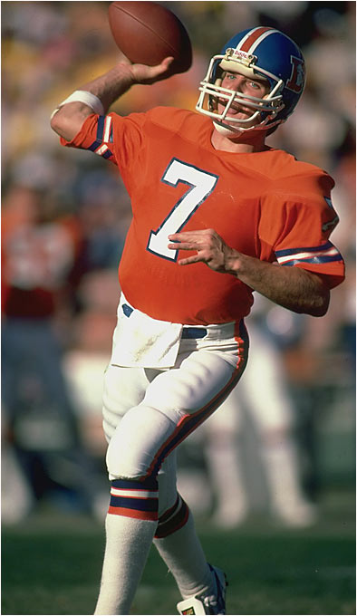 He had a cannon for an arm, excellent mobility and an uncanny ability to lead Denver back in the fourth quarter. He helped the Broncos reach five Super Bowls, two of which they won, and he was named to nine Pro Bowls.