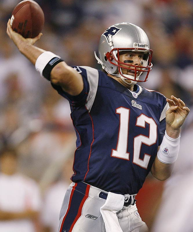 Number: 320 <br><br>Tom Brady's 320 passing yards in Week 3 were the fewest on 55 pass attempts in three years, since Kerry Collins of the Giants was 35-for-59 for 314 yards against Brady and the Patriots in 2003.