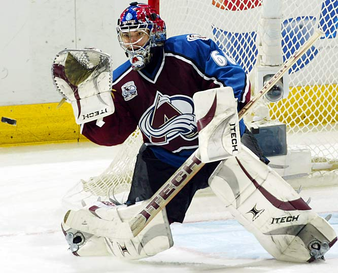 The first time he replaced Patrick Roy, Theodore won the Hart Trophy behind a nondescript crew in Montreal. With the Avs in transition, he'll need a reprise to get this team into playoff contention.
