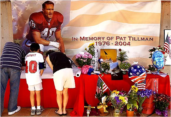 Pat Tillman would have turned 30 in November.