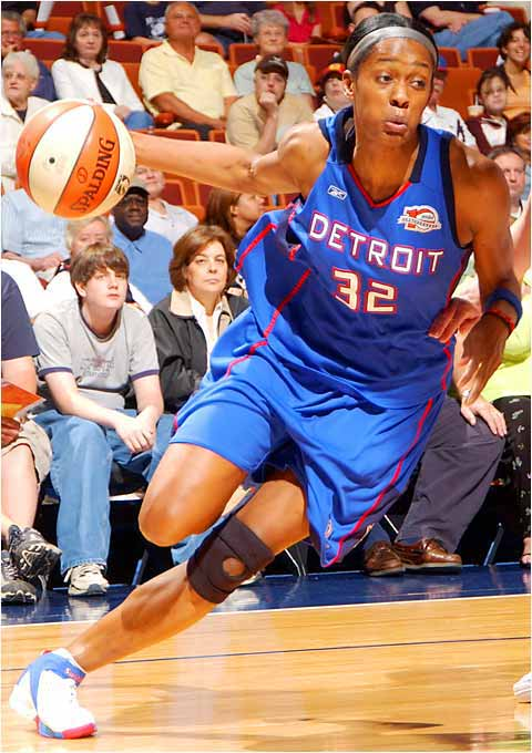 Want a money player? Think Cash: winner of two national titles at UConn, as well as 2002 Final Four Most Outstanding Player honors. The second pick in that year's WNBA draft, Cash paid off for Detroit in 2003, leading the Shock in postseason scoring (17.5 points per game) en route to the championship. The following year she bagged gold at the Summer Olympics.