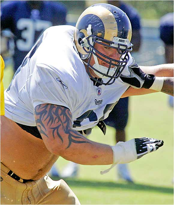 Incognito's ability has been disguised by three years' worth of fights, assault charges and disciplinary problems that got the three-time All-America dismissed from Nebraska in 2003. The Rams took a chance on the fiery, physical 305-pounder in the third round of the 2005 draft, but he sat out last season after knee surgery.