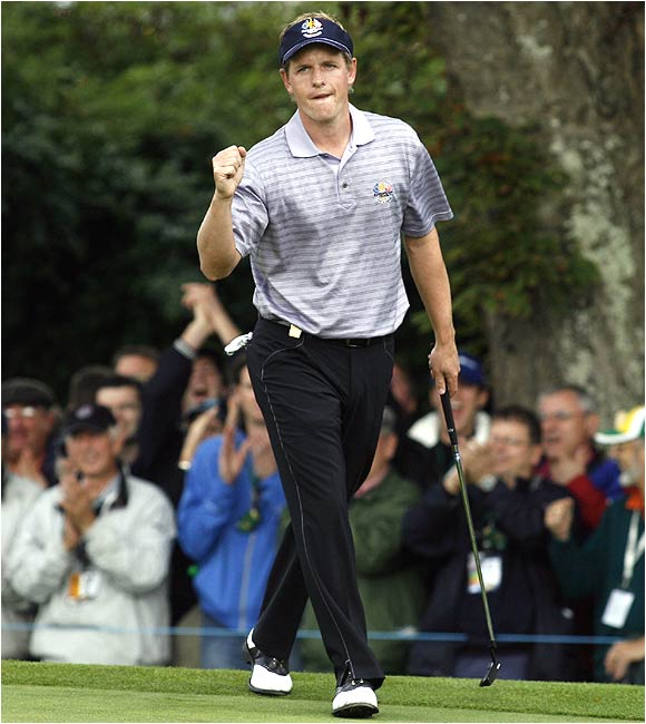 Thanks to the strong play of Luke Donald, Europe is aiming for its third consecutive Ryder Cup and has won four of the last five and seven of the last 10.