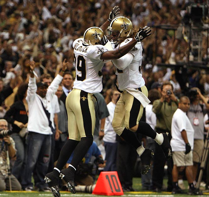 The Saints seized first place all to themselves in the NFC South while matching their wins from all of last season.