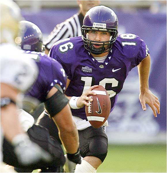 Horned Frogs quarterback Jeff Ballard threw for 190 yards and two touchdowns and ran for 26 yards and a score as TCU won its 12th straight.
