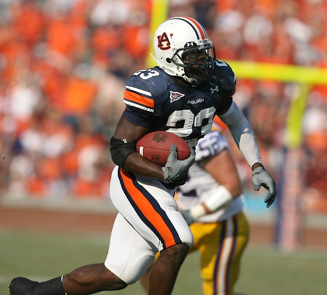 Kenny Irons and Auburn have had two stiff tests to date against LSU and South Carolina, but the Tigers have survived and are aiming for a BCS title shot they felt was taken from them in 2004.<br>Next test: Florida, Oct. 14