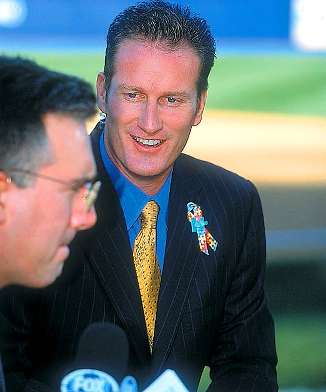 """After years of trying, Steve (Psycho) Lyons finally got fired for his wacky remarks. During Game 3 of the 2006 ALCS between the A's and the Tigers, the Fox analyst replied to fellow analyst Lou Piniella's comments in Spanish by saying, """"Lou's habla-ing some español there, and I'm still looking for my wallet. I don't understand him, and I don't want to sit close to him now."""""""