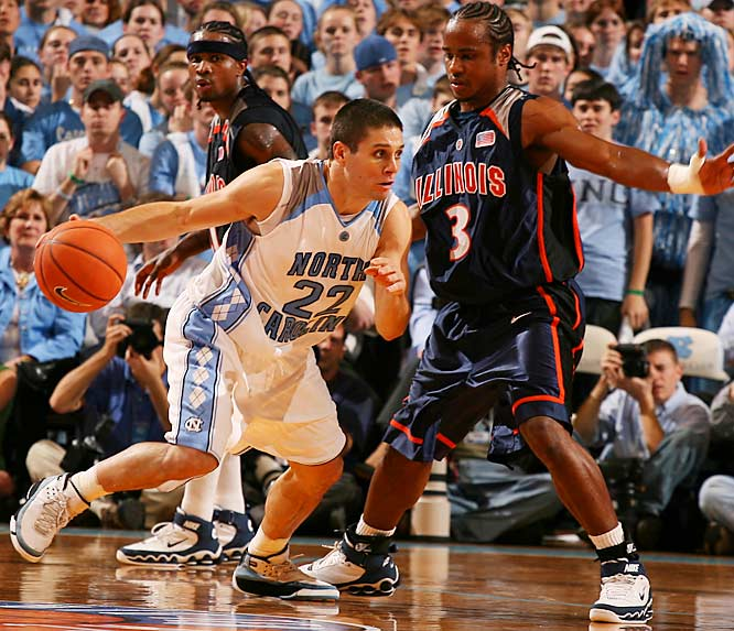 Headliners: Tywon Lawson, Wayne Ellington, Bobby Frasor, Marcus Ginyard, Wes Miller (left) <br><br>The Heels are bringing in the country's top prep point guard (Lawson) and top shooting guard (Ellington). They could eventually become UNC's next Felton and McCants, but in the meantime they still have to battle such talents as Frasor, Ginyard and Miller for playing time.