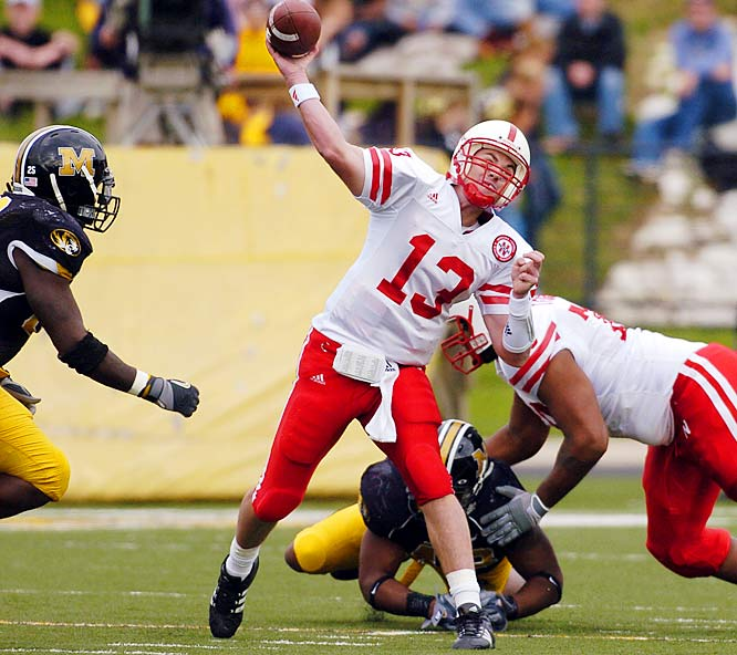 In recent years the Big 12 North has been the laughingstock of major college football. But Bill Callahan looks to be turning things around at Nebraska (5-1), and Missouri (6-0) is one of this year's biggest surprises. This face-off in Lincoln could decide the Big 12 North champ.