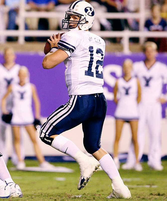 Beck is the next great QB in a long line of talented signal-callers at BYU that has included Steve Young, Jim McMahon and Ty Detmer. Beck, who has thrown for 1,560 yards and 13 touchdowns to just two picks, sparks an explosive offense that averages 33.5 points and 430 yards for the 4-2 Cougars.