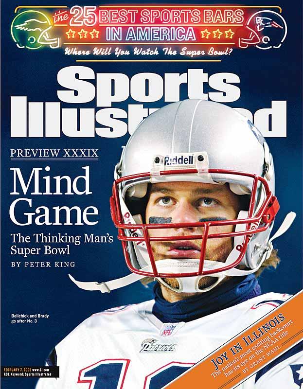 Feb. 7, 2005 SI Cover.