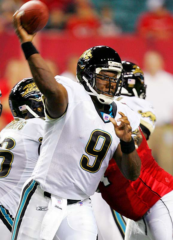 If he ever was going to make any real progress in supplanting starter Byron Leftwich, it would have been in this offseason. It didn't happen. Many NFL folks think Garrard is talented enough to be a starter in the NFL, and there are teams that could use Garrard more than the Jags can. The Bucs reportedly were interested in the fifth-year QB after starter Chris Simms was injured.
