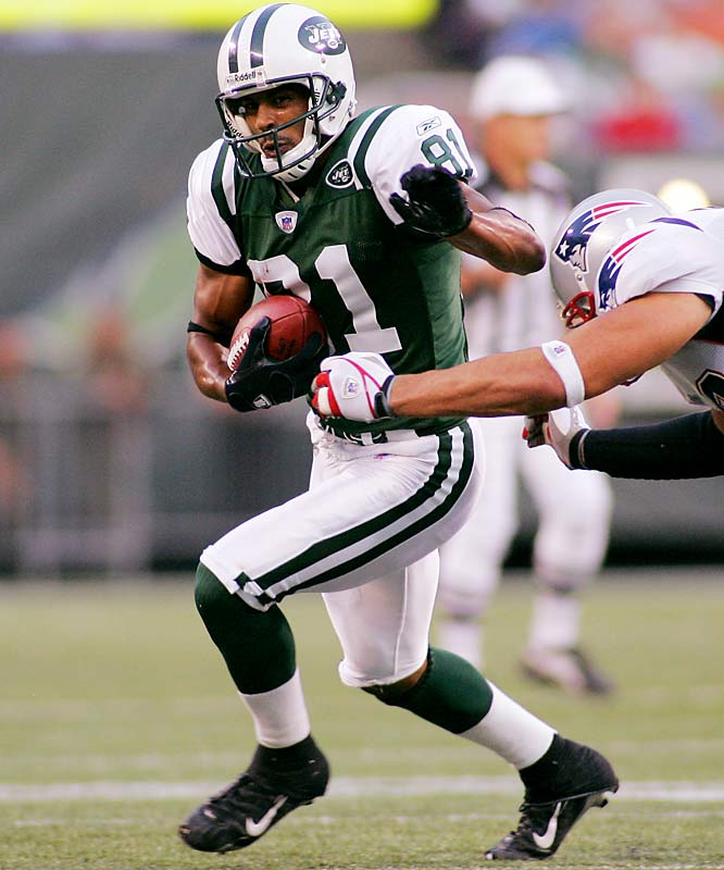 McCareins looked like a budding star when he joined the Jets in 2004, but new coach Eric Mangini doesn't appear to like the 6-2 receiver. He has only six catches in five games and has little chance of moving up the depth chart.