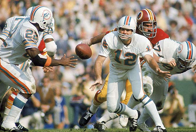 When Larry Csonka and Jim Kiick weren't working their magic on offense, running back Mercury Morris was working his. Morris and Csonka became the first teammates in league history to both rush for 1,000 yards in the same season.