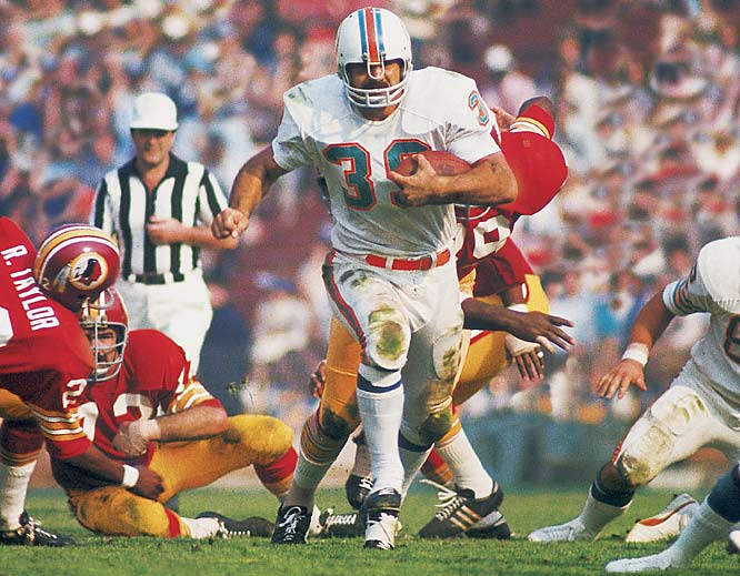 Larry Csonka carried the ball 15 times for 112 yards in the championship game, and might have been named MVP if not for safety Jake Scott's two interceptions, one in the end zone.