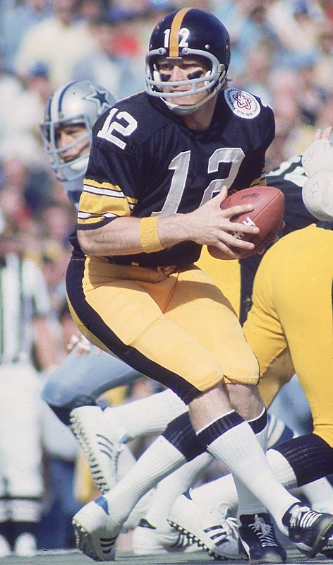 Terry Bradshaw passed for 209 yards and two touchdowns in the 21-17 victory over the Cowboys, the first of four Super Bowls that Bradshaw would win.