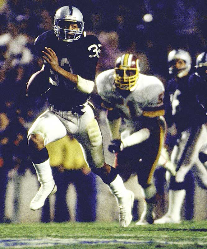 One of Allen's 20 carries was a record-setting 74-yard touchdown run in the third quarter, which helped him become only the third Heisman Trophy winner to also win Super Bowl MVP honors.