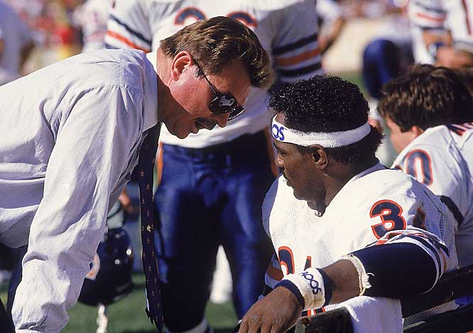 Mike Ditka took his teams to the playoffs seven times in his 14-year coaching career, none sweeter than the 1985 Bears, who defeated the Patriots 46-10 in Super Bowl XX to finish with a 15-1 record.