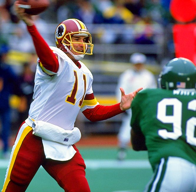 The 1991 Redskins had one of the best season in franchise history, finishing with a 17-2 record and a Super Bowl XXVI 37-24 victory over the Buffalo Bills behind the MVP performance of quarterback Mark Rypien.