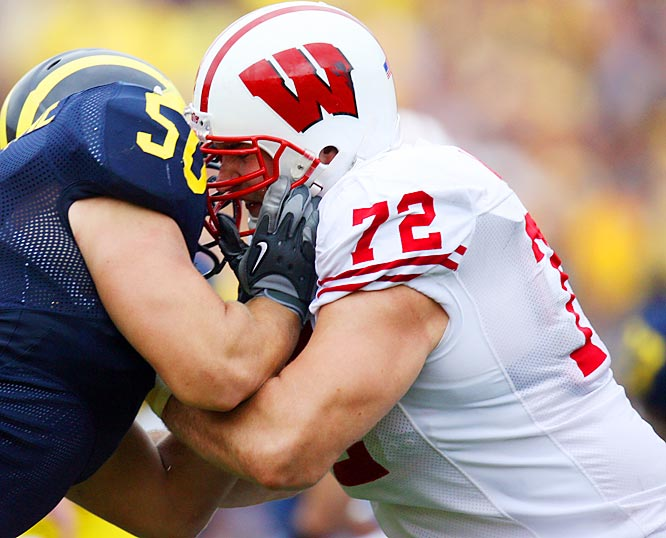 Thomas is an outstanding pass blocker for Wisconsin who many think could be a Top 5 selection.