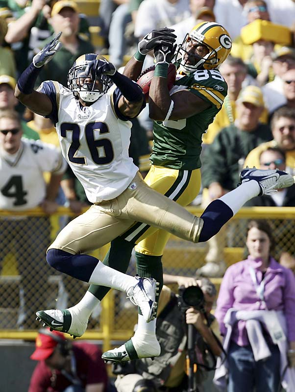 Last week: No. 4<br><br>Jennings had five catches for 105 yards and a touchdown on Sunday and has become a bona fide deep threat for the Packers. He had a bad drop in the loss to the Rams, but the good far outweighs the bad for the exciting rookie out of Western Michigan.