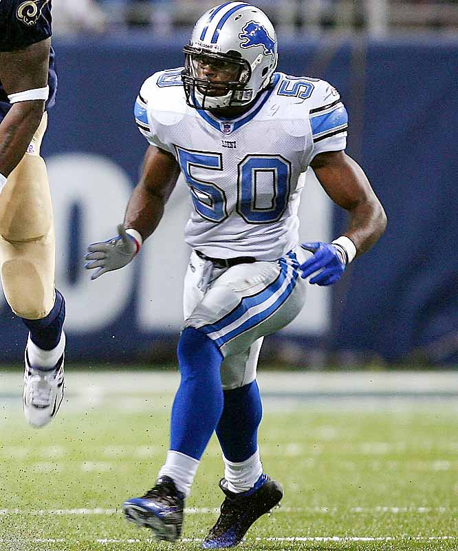 Last week: No. 7 <br><br>Sims is a bright spot on a terrible Lions defense. He ranks 11th in the NFL with 35 tackles, and he's a nasty hitter. Although Detroit's season has fallen apart, Sims' development is worth watching.