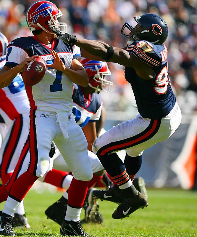 Last week: No. 4 <br><br>Anderson is coming off a bye and is tied for third in the NFL with 6 1/2 sacks. As everyone compares this Bears defense to the famous 1985 team, Anderson fits the Richard Dent role as a sack specialist.